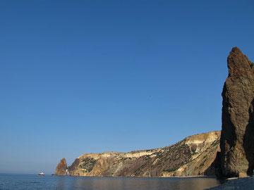 А так Фиолент выглядит с Яшмового пляжа