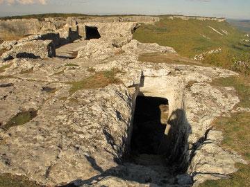Пещерный комплекс Барабан-Коба на Мангупе