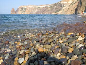 Пляж Яшмовый, мыс Фиолент