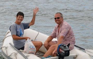 Linda & Andy / Coromandel (GB), Camphino 07-08-2012