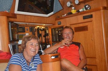 Helga en Peter van de Twiga, Culebra/Puerto Rico, 5 maart 2013