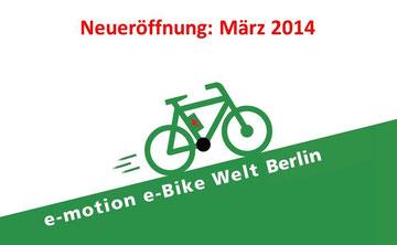 Neueröffnung e-motion e-Bike Welt Berlin