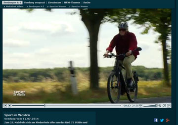 Probefahrt mit einem e-Bike von BlueLabel