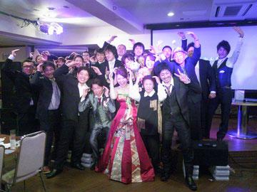 雪の日の結婚式