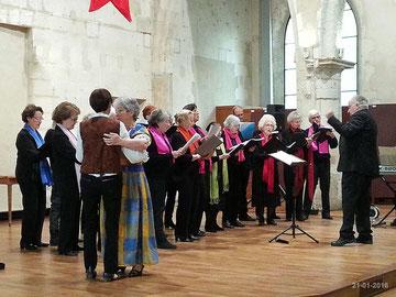 Chorale à la galette à l'Oratoire le 21-01-2016