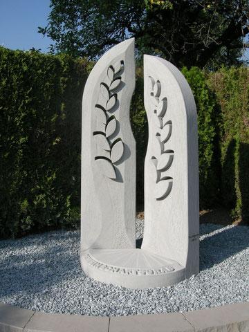 Bildhauer Widmer stele