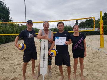 Marcio Holzer (von links), Valeri Seifried, Artur Stark und Marcela Cardenas