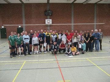 Teilnehmerinnen und Teilnehmer vom letztjährigen Turnier