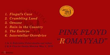 Pink Floyd - ROMAYYAD - MQR 002