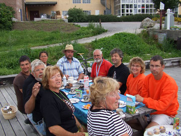 hier beim Multihulltreffen in Fredrikstad