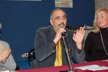 Sabino Morra inizia il discorso