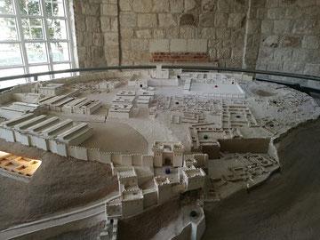 holylandphotos.org model of Megiddo