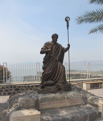The statue of St. Peter