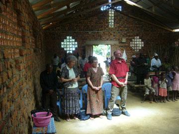 Abschiedsgottesdienst in Kindu