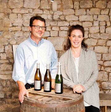 Céline et Frédéric Gueguen