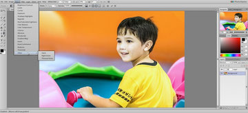Photo Raster or photoraster is a photoshop look like free editor