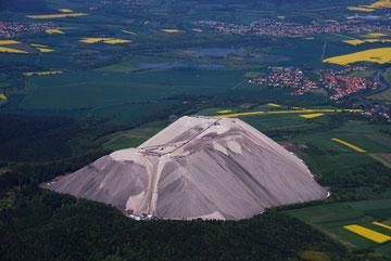 Abraumhalde Wintershall, genannt > Monte Kali <