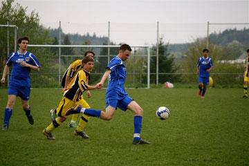 Die B- Jugendlichen der SG Seckach/Schefflenz in Action
