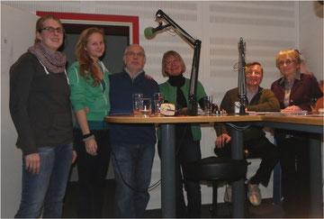 von links: Verena Klipp, Sophie Jülich, Manfred Jucks, Gisela Henze, Hugo Schmidt und Heidi Schmelzle