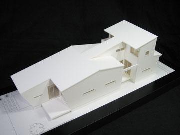 1/100住宅模型画像