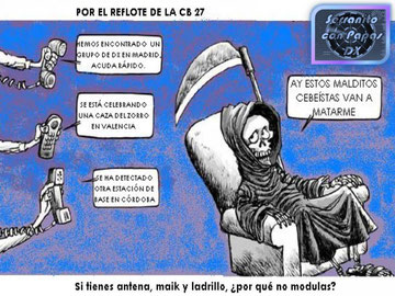 POR EL REFLOTE DE LA CB 27.