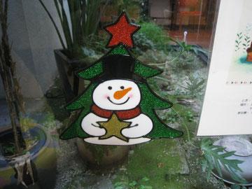 ガラス用、クリスマスシール