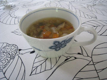 GW有田陶器市で買ったスープ用、カップ