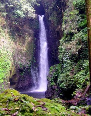 Wasserfall in malerischer Umgebung