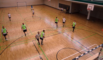 Bild: Krückenfußball