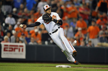 Nella foto Manny Machado (foto da USA Today)