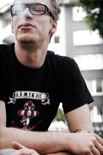 """""""Leben ist mein Lohn"""" - Sven trägt sein Motto auf dem Arm. Fotos: Marlene Mondorf"""