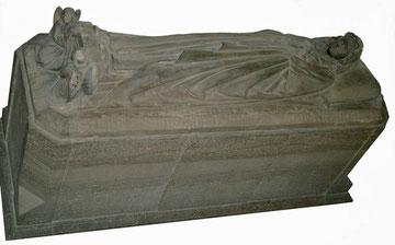 Die Figur Anna von Alvensleben in der Kirche