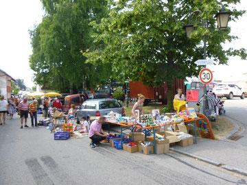 Hochwasserhilfe Flohmarkt