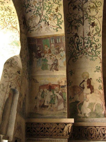 Kloster Denkendorf, Krypta, Wandmalerei - © Traudi