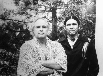 Marlon Brando e un capo Sioux (sezione film mai realizzati).