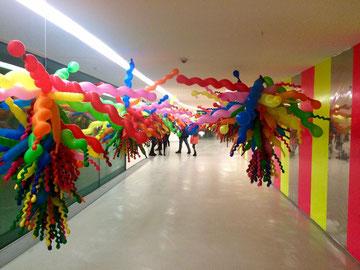 Museo MAXXI, Life life - Choi Jeong-Hwa. Photo ©Alessia Paionni
