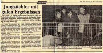Lothar Ortelt und Stefan Schabram als Jungzüchter