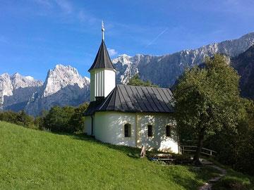 St. Nikolaus Kapelle im Kaisertal bei Kufstein