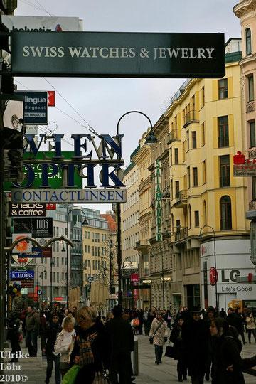 Kärntner Strasse in Wien