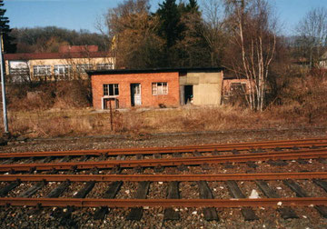 Die ehemalige Werkstatt