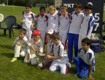 U11 Leman Cup winning side (7.9.2013)
