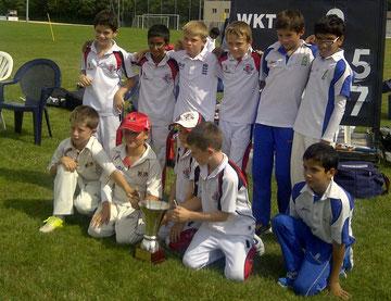 U11 Leman Cup winning side (7.9.2013)