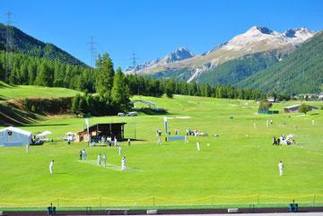 International Cricket Festival in Zuoz in 2010
