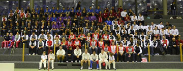 Swiss Olympians, their coaches 8 eight cricketers © Swiss Olympic