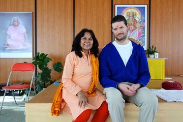 Dr. Nalini Sahay und Matthias Kimmerle