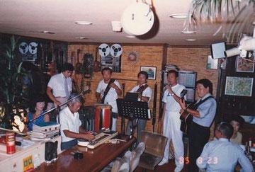 原宿 Lei にて1985