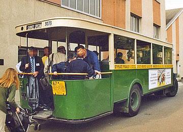 L'autobus 67 vue arrière