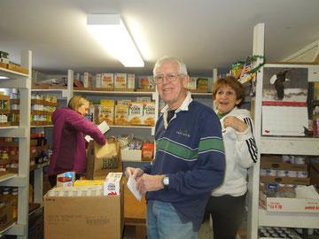 LHUCC Volunteers at Joyce Uptown Food Shelf