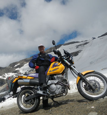 Direkt am Fuss des Mölltaler Gletschers...