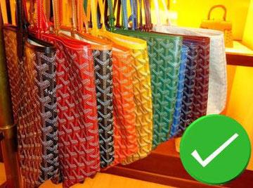 Saint louis bag color goyard